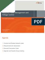 4 Reactive Power Management Voltage Control ExpertGroup Feb2016 FinaL