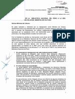 Carta Unitaria a La Ministra de Cultura-Perú