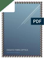 Ensayo Fibra Optica