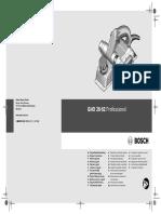 Bosch Gho 26 82 Manual