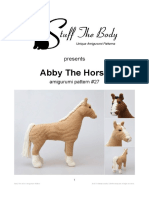 StuffTheBody Abby the Horse Amigurumi Pattern v01