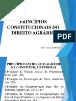 Princípios Constitucionais Do Direito Agrário