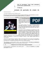 Guía Idea Principal, Correferencia y Argumentación (Sesión 3)