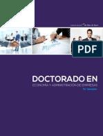 Brochure Doctorado DREA - Administración