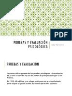 Pruebas y Evaluación Psicológica