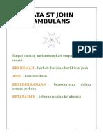 Maklumat St John Ambulans