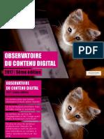 Observatoire Du Contenu Digital