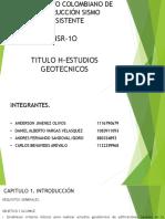 Reglamento Colombiano de Construcción Sismo Resistente