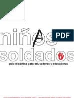 unidad didactica 2006 niños soldados