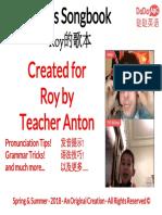 Roy Songbook