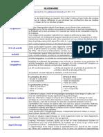 Glossaire Enseignement Apprentissage Des Langues