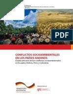 Conflictos-socioambientales Paises Andinos