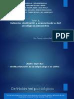 Tema 1 Los test psicológicos, calsificación y evaluación en adultos.pptx