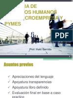 Gerencia RR.hh en La Microempresa y PYME UASD-Santiago Feb 2013