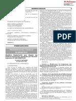 Modifica Reglamento que Regula las Políticas Nacionales aprobado por Decreto Supremo N° 029-2018-PCM