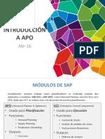Introducción a APO - ESP