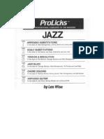 (Guitar Book) Les Wise - Jazz Guitar Method