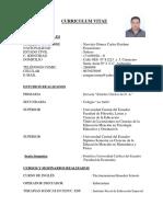 Curriculum Vitae Carlos Narvaez