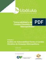 Vulnerabilidad y Adaptación Al Cambio Climático en Arequipa Metropolitana - Parte 1