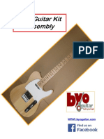 Tele Guitar Kit Instructions