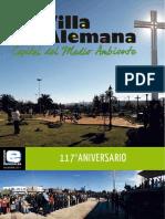 Revista Villa Alemana Aniversario 117 Años