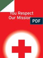 Red Cross Emblem Brochure