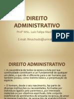 Aula 01 - Direito Administrativo