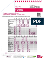 Tours-Vierzon-Bourges-Nevers 13 avril