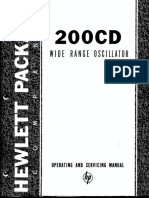 200cd /cdr service manual