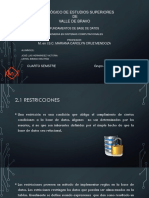 2.1 Restricciones