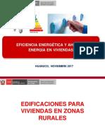 Eficiencia Energetica en Viviendas-huanuco-noviembre 2017