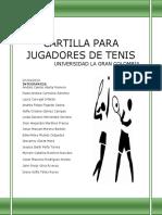Cartilla Para Jugadores de Tenis