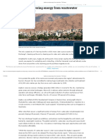 Aqaba Recovering Energy From Wastewater - The Source