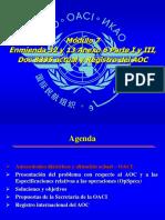 Módulo 7 - Enmienda 32 y 13 Anexo 6 Parte I y III, Doc 8335, Registro Del AOC
