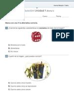 evaluación forma A, part1