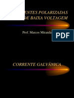 Eletroterapia Correntes Polarizadas de Baixa Voltagem