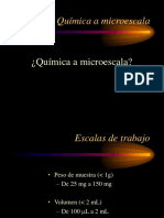 QUIMICA MICROESCALA