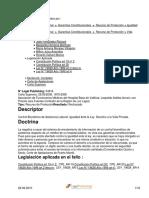 Caso Asociación de Funcionarios Médicos Hospital de Valdivia Con Contralor Regional