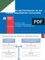 Plan Regulador y Patrimonio