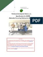 NORM Specification SP 1170 (Version 3).doc