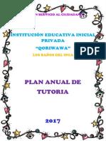 311395399 Plan de Tutoria Institucional 2016 i e i n 282 Shancayan Docx