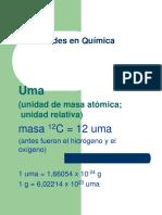 Cantidades en Quimica