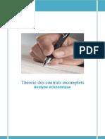La Theorie Des Contrats In Comp Lets