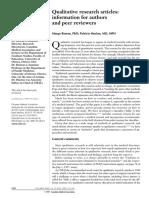 2 Rowan 1997 Qualitative Research Writing PDF