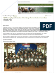 """""""FBR -- Reports- Graduation of New Ranger Teams in Southern Karen State"""""""
