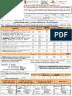 2 Cuestionario - Deteccion de Sintomas Prostaticos