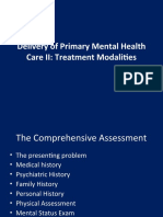 Delivery of Primary Mental Health Care II_1