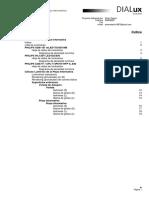 Cálculos Lumínicos de Plaza Informativa