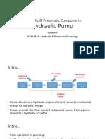 Lect 3 Hyd-pumps
