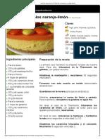 Hoja de Impresión de Tarta de Caramelos Naranja-limón